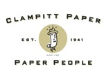Logo of Clampitt Paper, this month's Featured Member