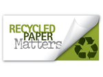Recycled Paper Matters Logo