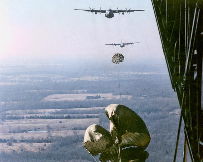 C-130 HE Airdrop