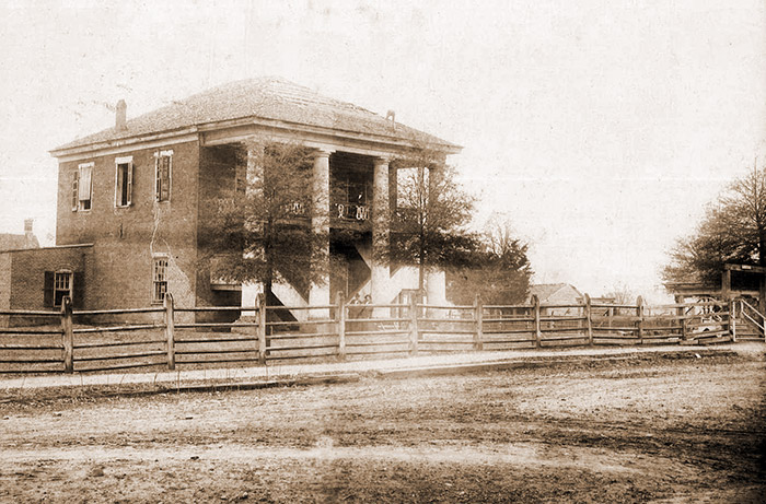Original Clark County Courthouse