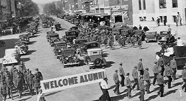 Tech 1934 Homecoming