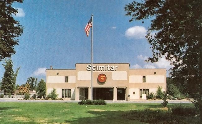 Scimitar Temple