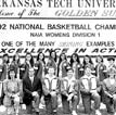 Arkansas Tech's Women's Basketball Team