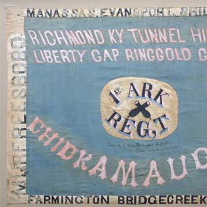 1st and 15th Infantry Regiment Flag