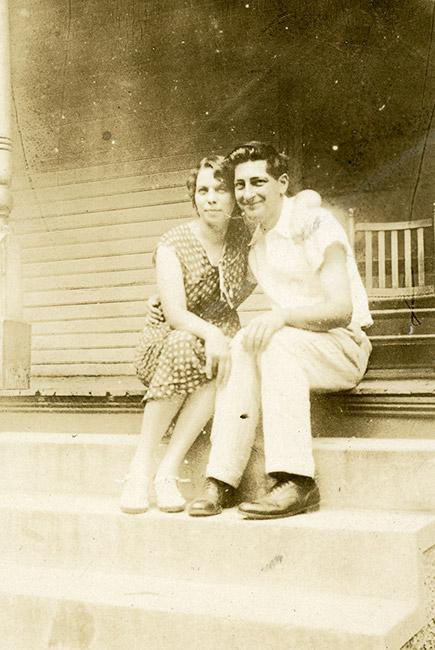 Charlie May and Howard Simon
