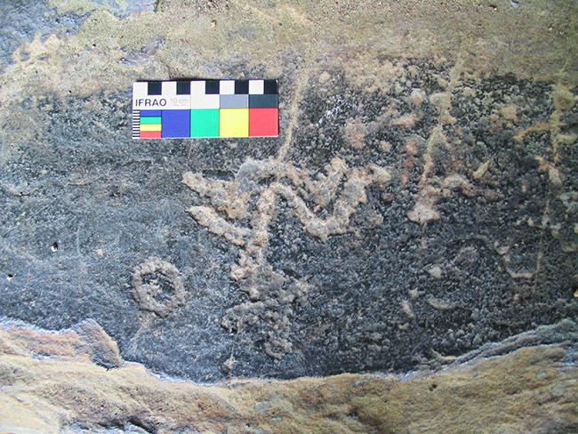 3CN130 Petroglyph