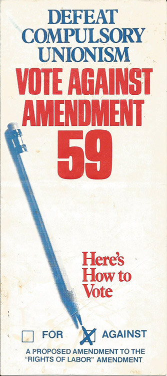 Anti-Amendment 59 Brochure