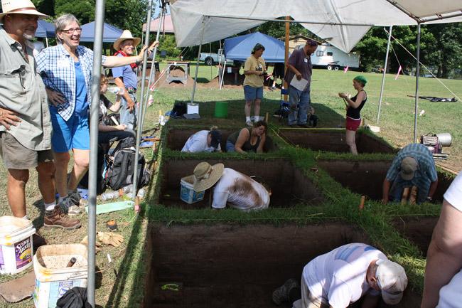 Toltec Mounds Excavation