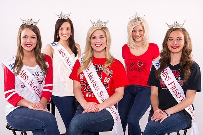 ASU Miss Arkansas Contestants
