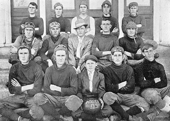 Second District Agricultural School Football Team