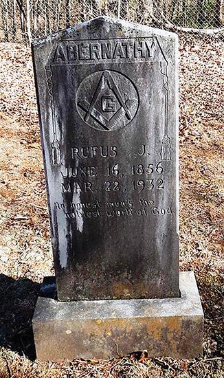 Abernathy Headstone