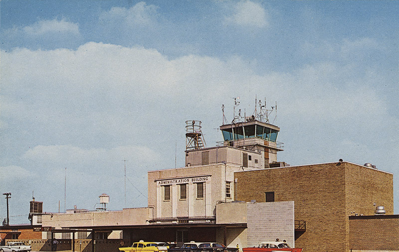 Adams Field Control Tower and Administration Building