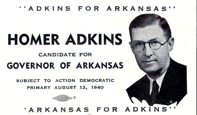 Adkins Campaign Flyer