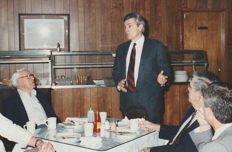 Bill Alexander in Cabot