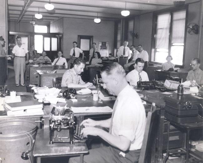 Arkansas Democrat Newsroom