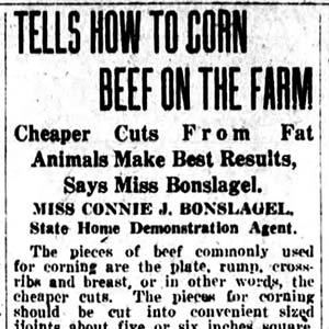 Connie Bonslagel Article
