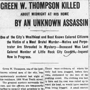 Green Thompson Murder