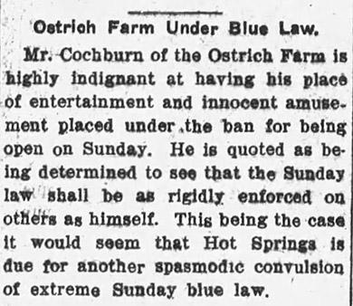 Blue Laws Article