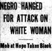 Tuggle Lynching Article