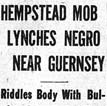 West Lynching Article