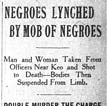Lonoke Lynching Article