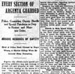 Argenta Race Riot Article