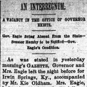 Governor Vacancy Article
