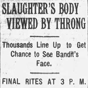 Tom Slaughter Death Article