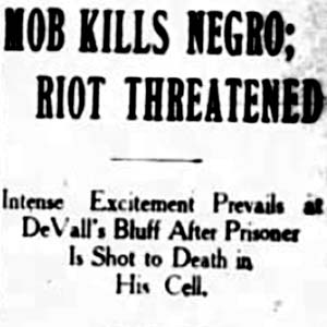 George Bailey Lynching Article