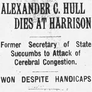 Alexander Hull Death Article