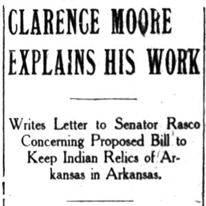 Clarence Moore Article