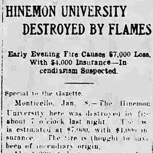 Hinemon University Article