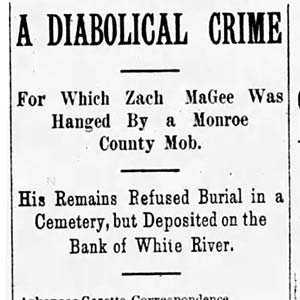 Leach Magee Lynching Article