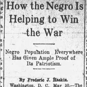 African-American War Support