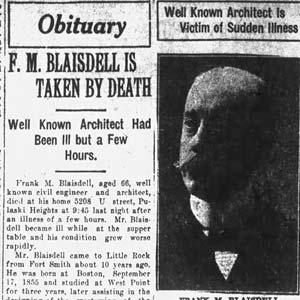 Frank Blaisdell Obituary