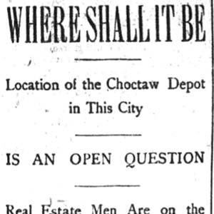 Choctaw Freight Terminal Article