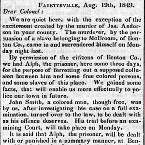 Alph Lynching Article
