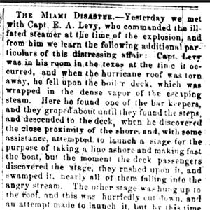 Miami Disaster Article