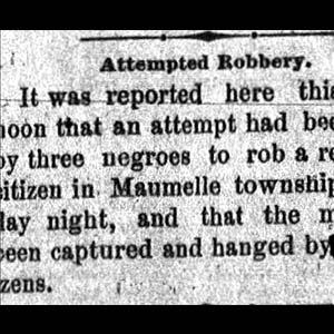 Pulaski County Lynching Article