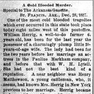 William Herrig Murders Article