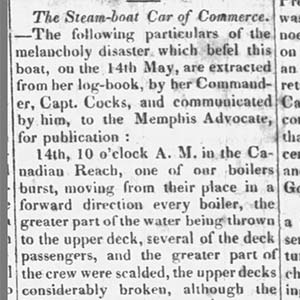 Car of Commerce Disaster