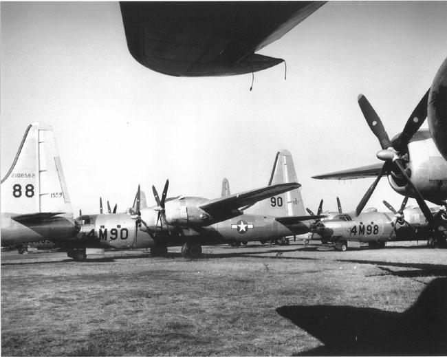 Walnut Ridge Army Flying School B-32s