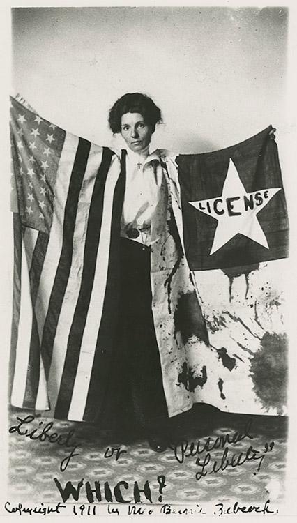 Bernie Babcock, Suffragist