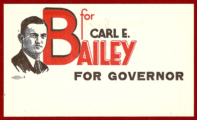 Carl Bailey Postcard