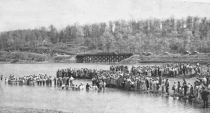 Pigeon Creek Baptism