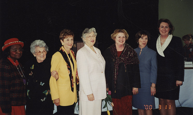 Eliza Ashley with Governors' Wives