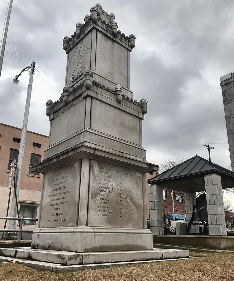 Batesville Confederate Monument