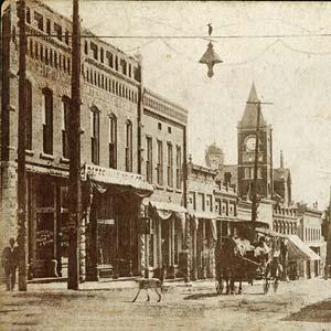 Main Street; ca. early 1900s