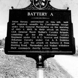 Battery A Marker