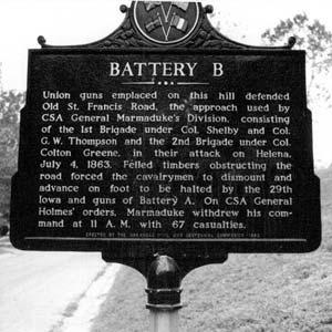 Battery B Marker